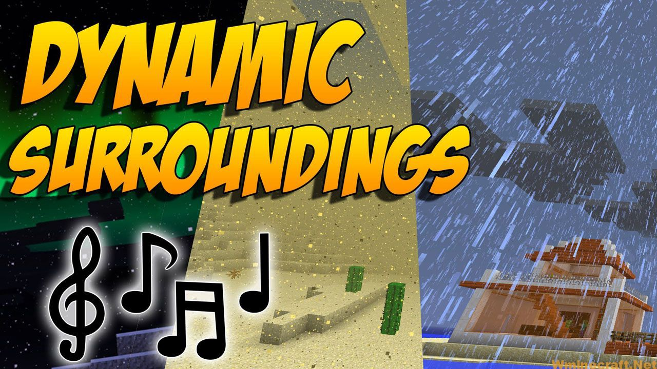 Dynamic Surroundings Mod 1.16.5/1.12.2 for Minecraft