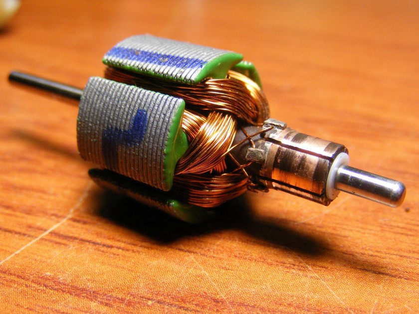 Small Electric motor.