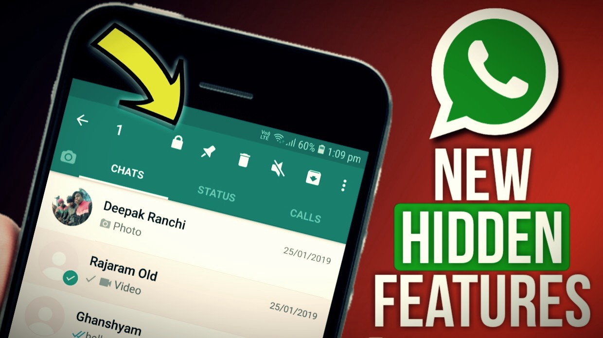 New Features In WhatsApp & Secrets Of WhatsApp Chatting