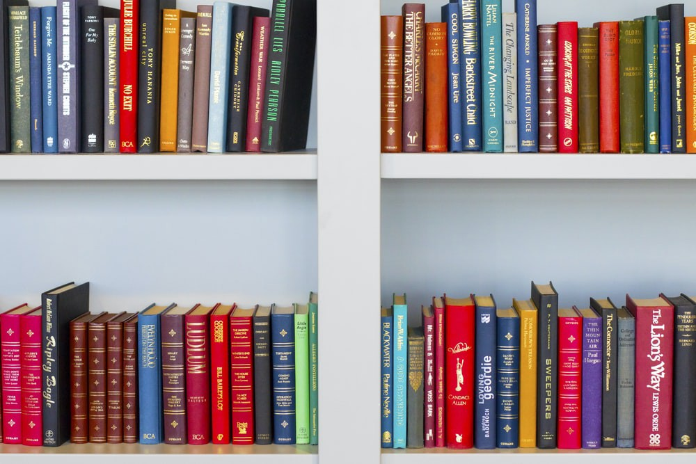 Image of book case by Nick Fewings—Unsplash