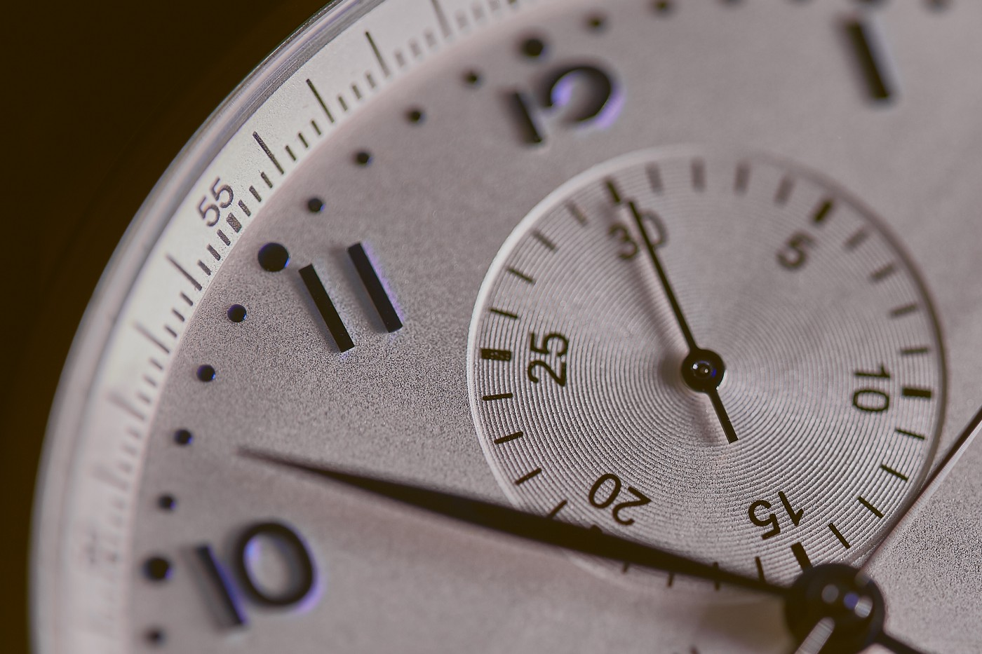A watch with a minute and second hand. This powerful practice only takes 30 seconds before and after your interactions.