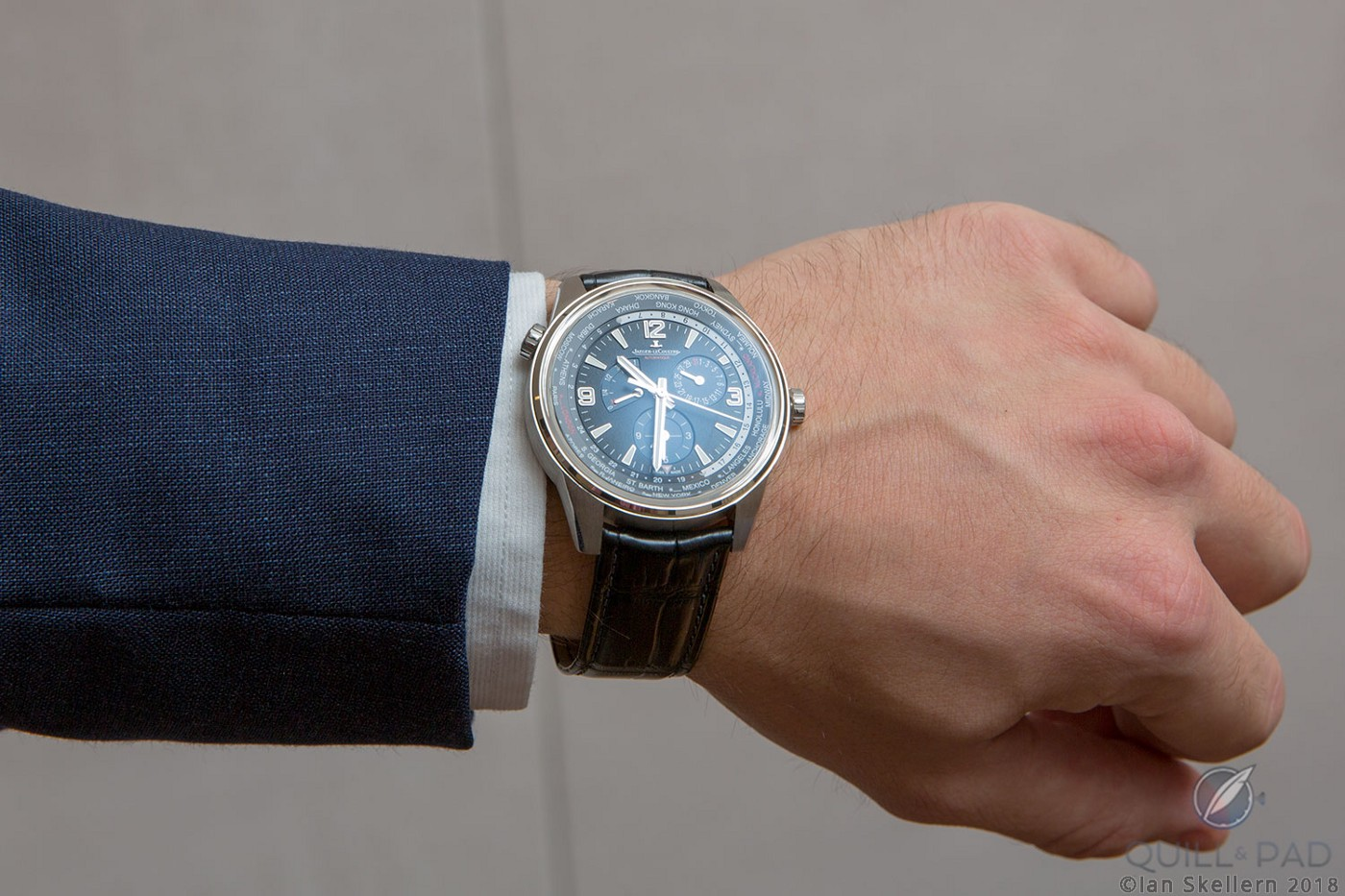 Jaeger-LeCoultre Polaris Geographic on the wrist