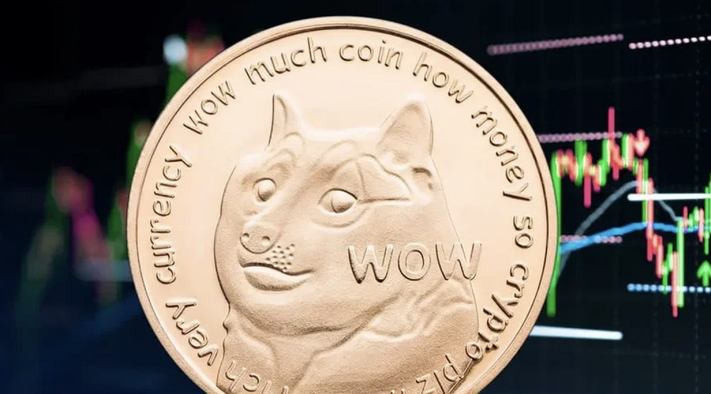 Monthly volume launches Dogecoin as the fifth most traded cryptocurrency, $253B.