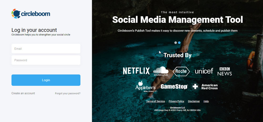 Circleboom's Social Media Publisher can help you to manage multiple accounts on a single dashboard.