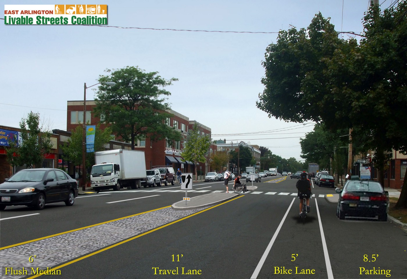Community Organizing for a Complete Street in Arlington, MA