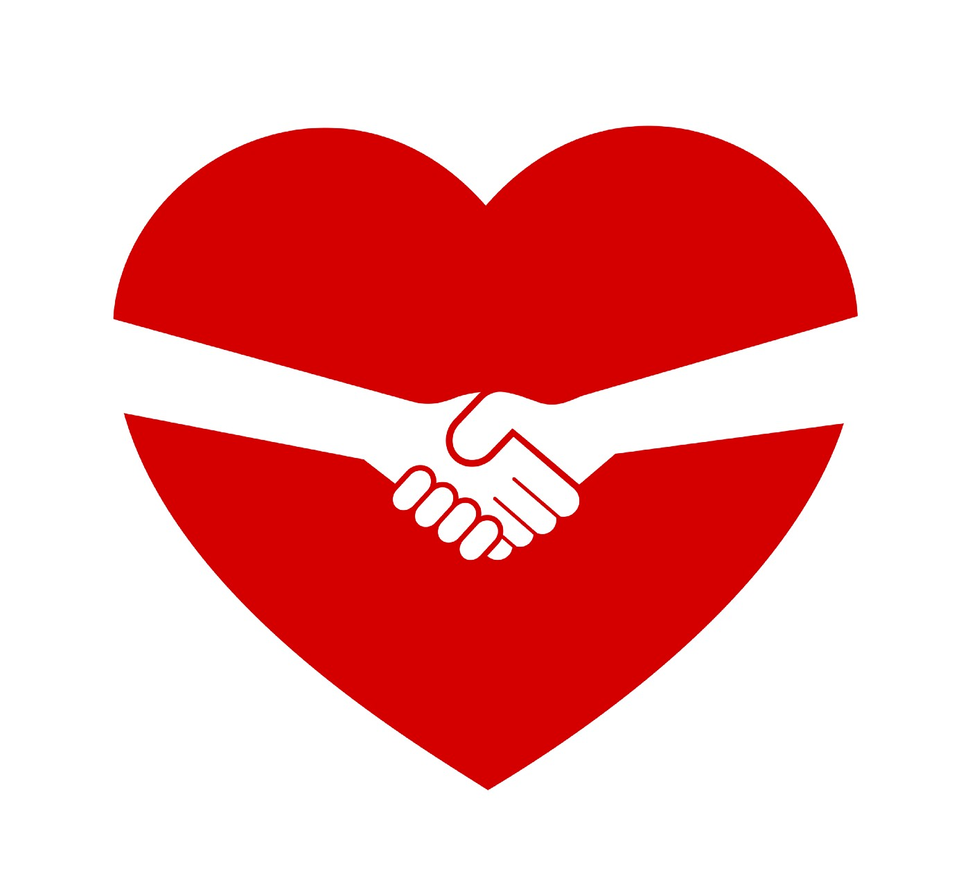 Love heart and handshake - Consent, deal and treaty between partner, significant other and lover - consensual sex agreement.