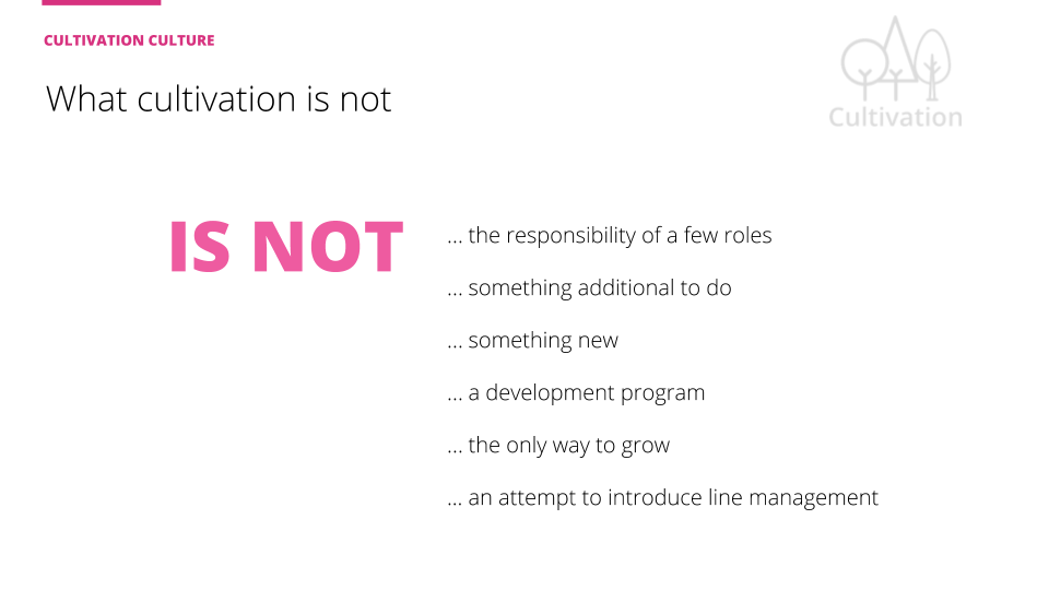 What cultivation is not slide