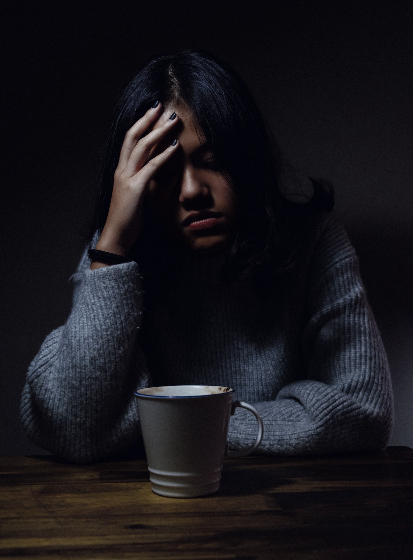Worrying over coffee