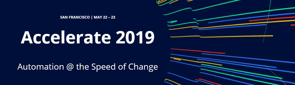 Tricentis Accelerate San Francisco 2019 - conference logo