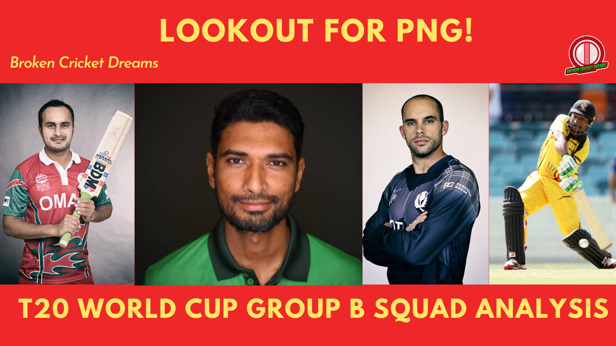 Group B 2021 T20 World Cup Squads Dissected: Bangladesh, Oman, Papua New Guinea, Scotland—Can PNG Spring a Surprise?