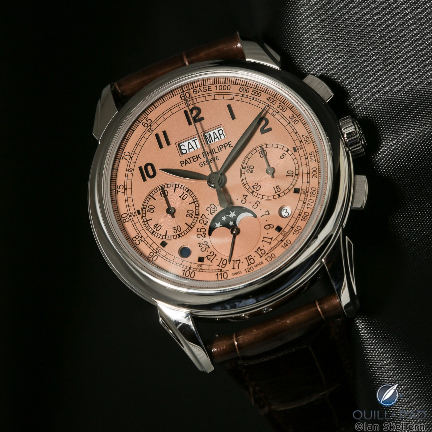 Patek Philippe Reference 5270P Perpetual Chronograph with salmon dial