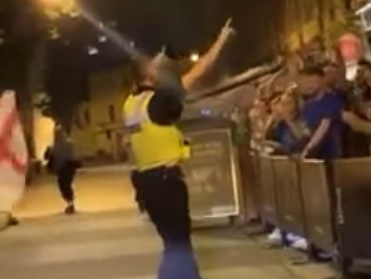 Police force apologises as officers conduct banned England football chant in Walsall