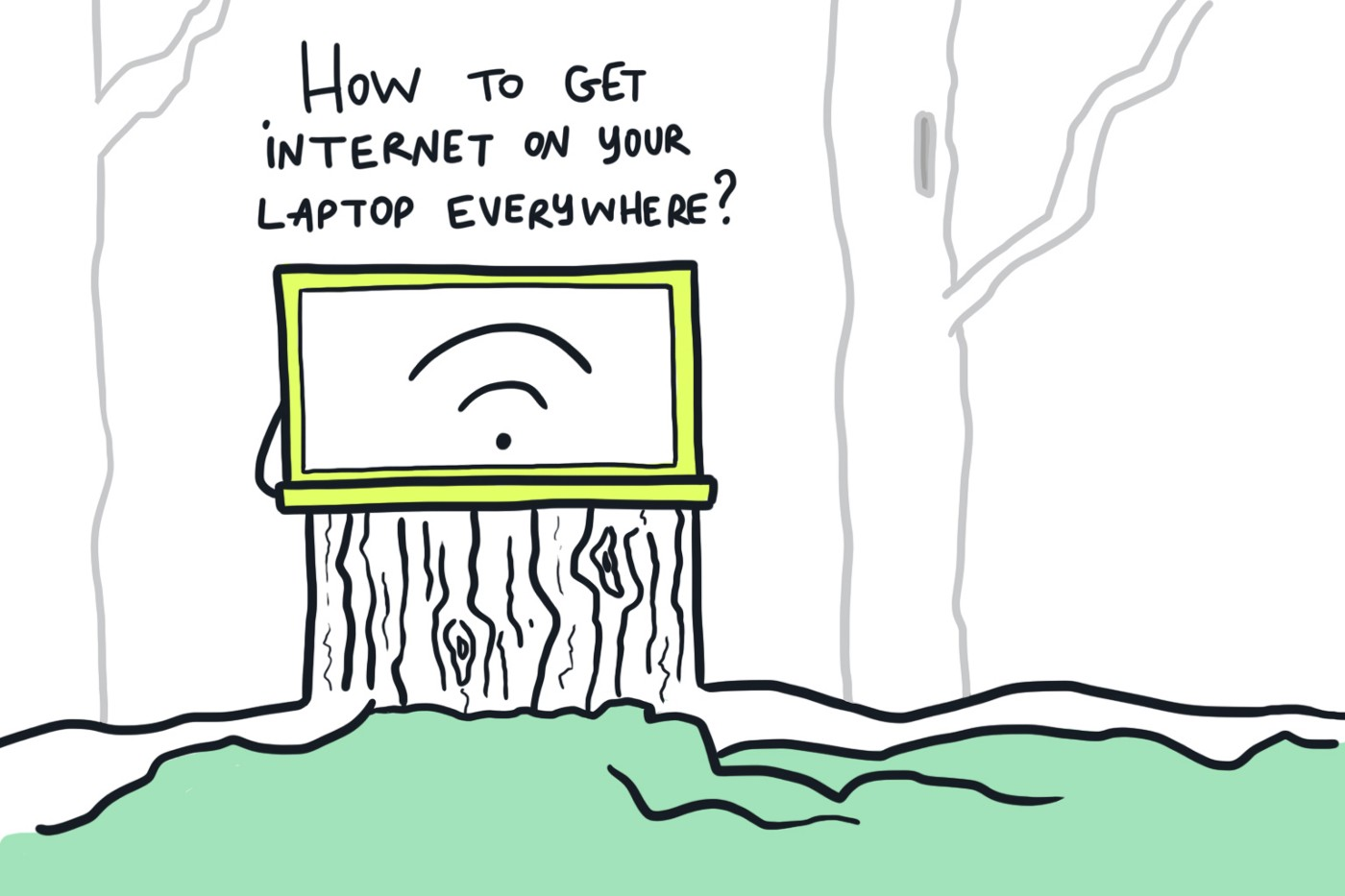 Get Internet on Your Laptop Everywhere