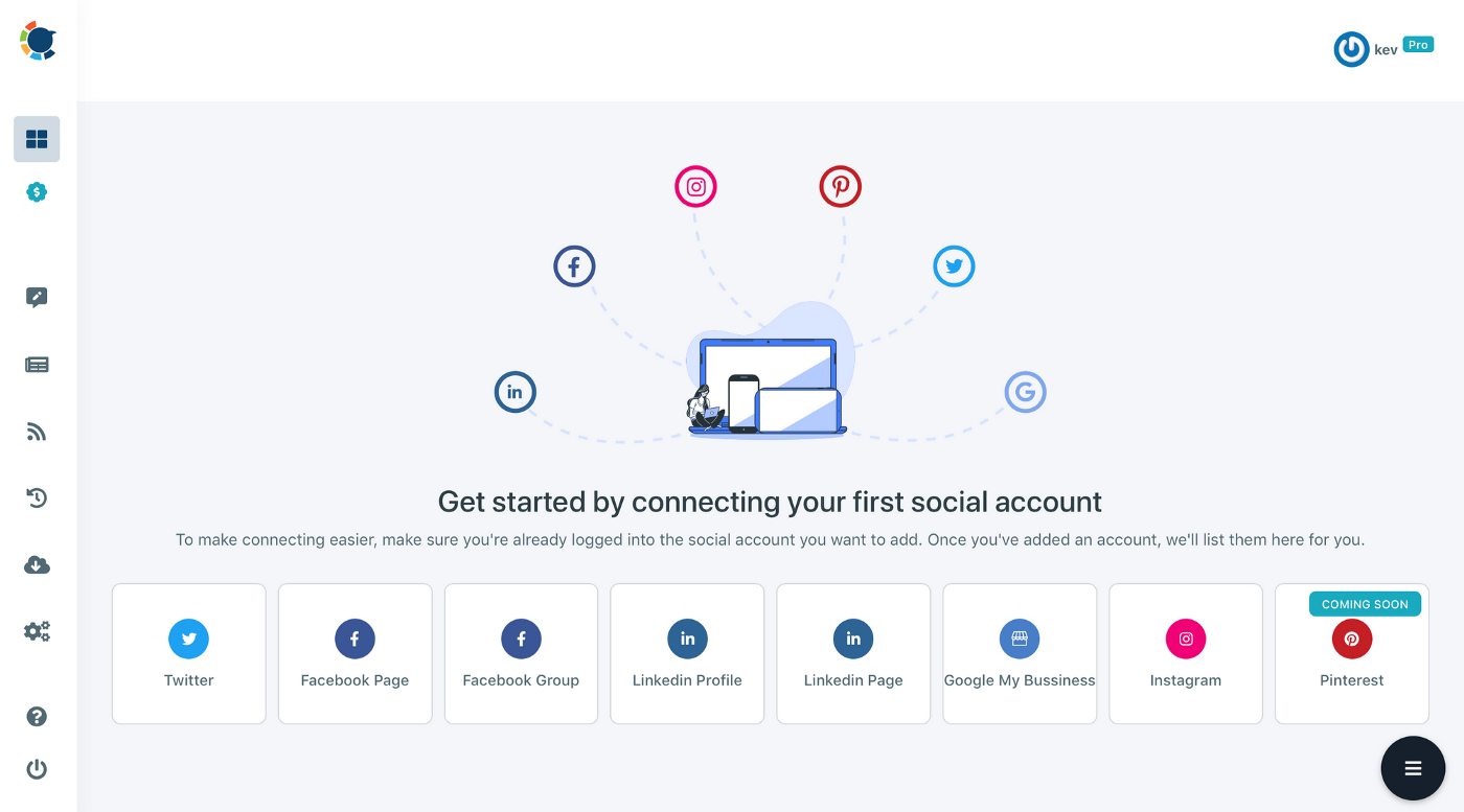 You can manage multiple LinkedIn accounts and schedule posts on LinkedIn with Circleboom.