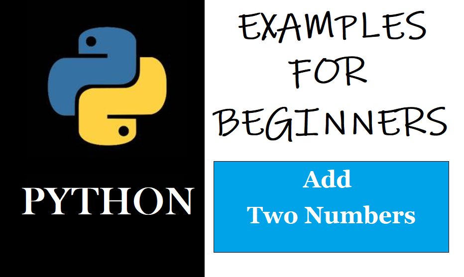 Python: Example For Beginners