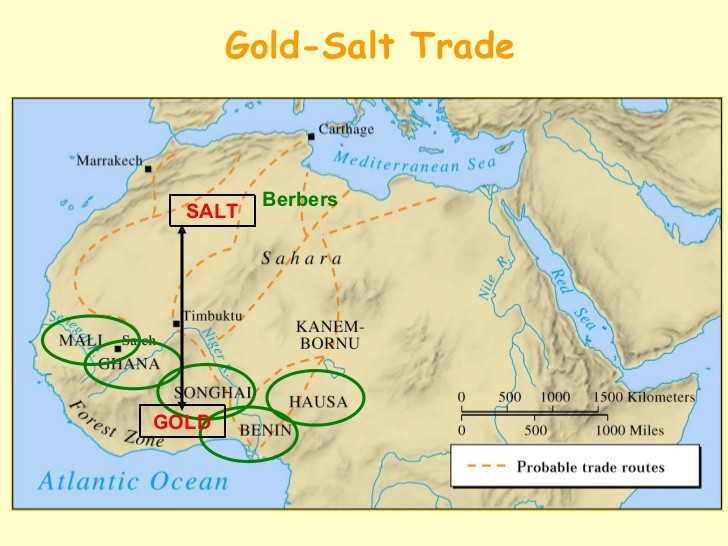 West Africa Trade — Gold and Salt - Desiree Fines - Medium on tourist map of ghana, soil map of ghana, gold map of ghana, population density map of ghana, weather map of ghana, energy map of ghana, government map of ghana, culture map of ghana, oil map of ghana, agricultural map of ghana, mineral map of ghana,