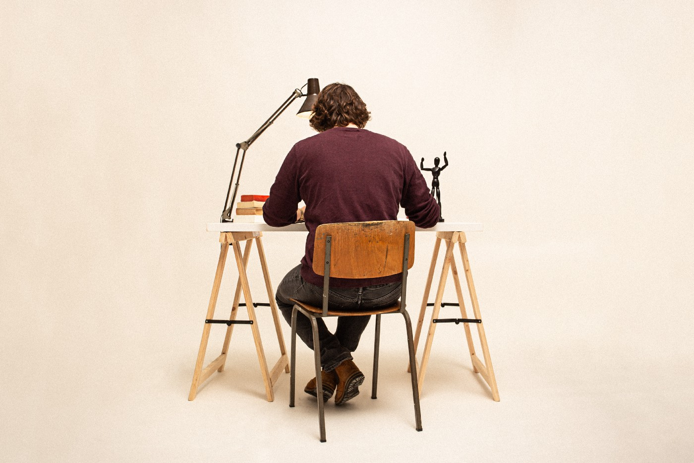 Person sitting in a chair