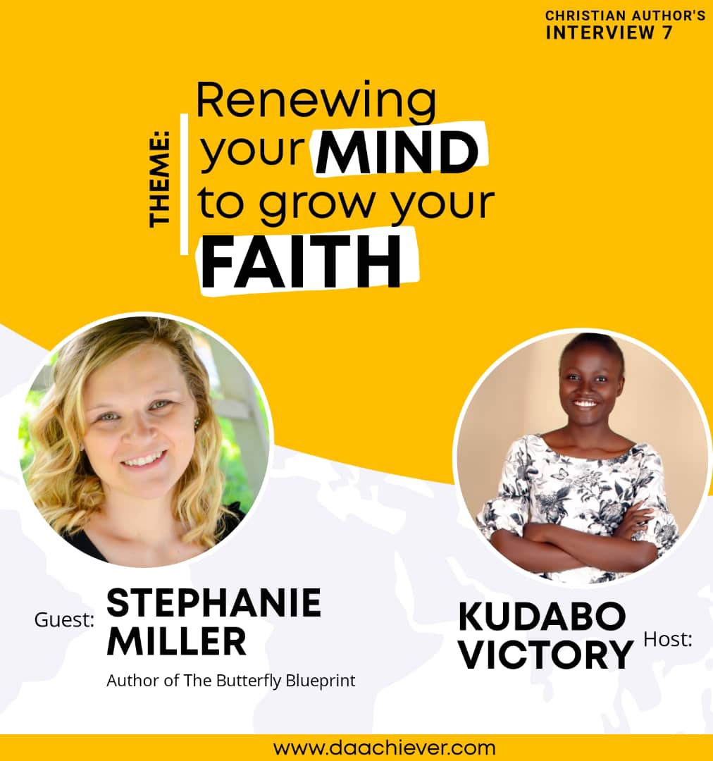 The Christian Author Interview with Stephanie Miller - Episode 7
