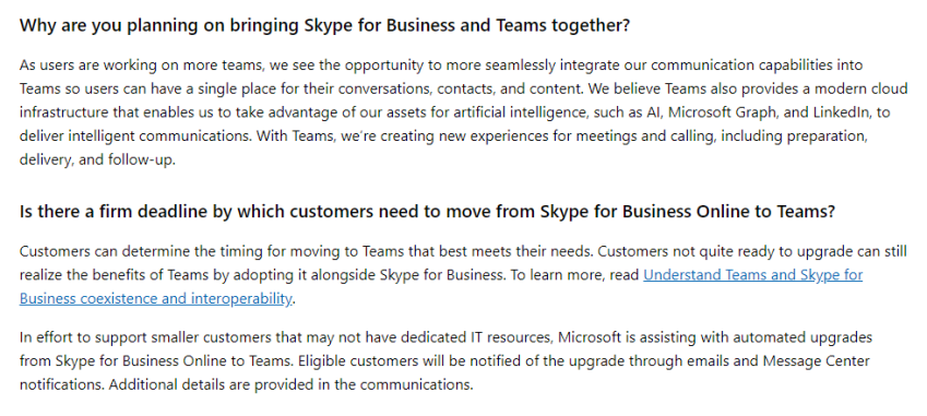 Skype for Business end of life — what happens next?