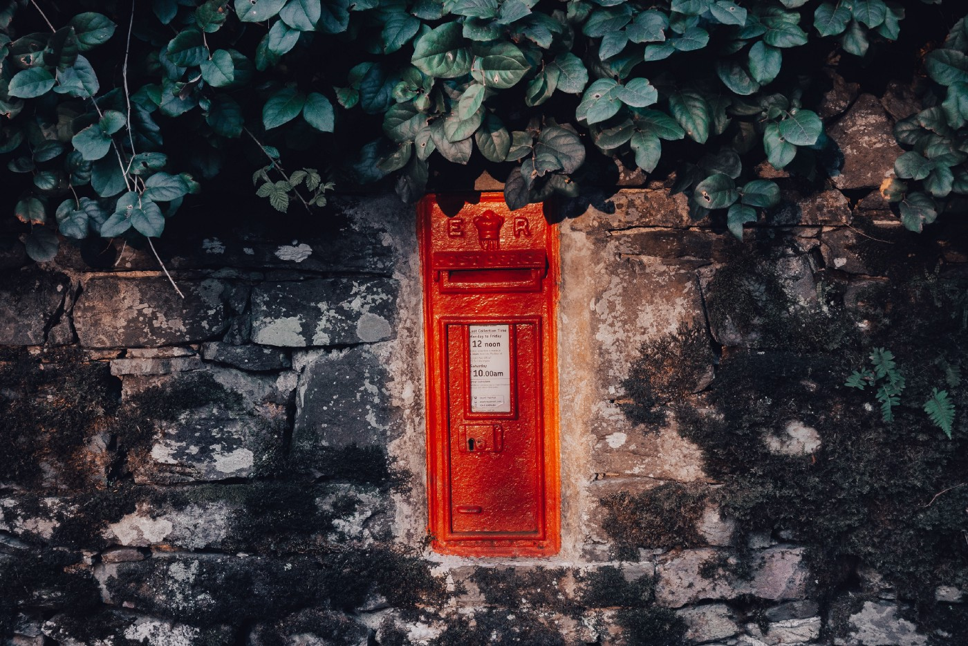 Photo of a UK postbox