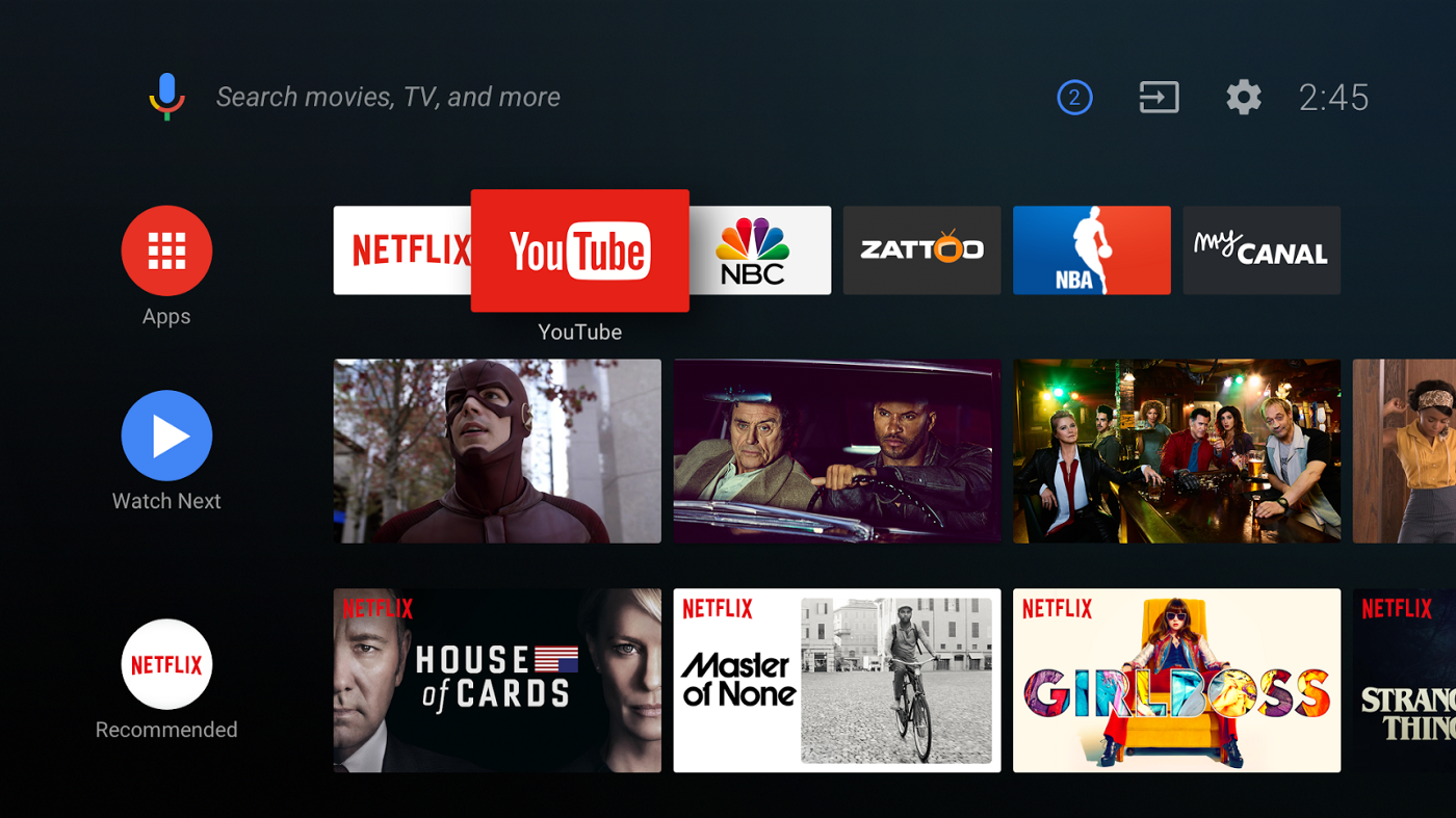 Building for the future of TV with Android - Google Play Apps