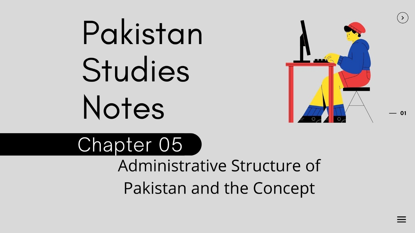 Chapter 5 Administrative Structure of Pakistan and the Concept