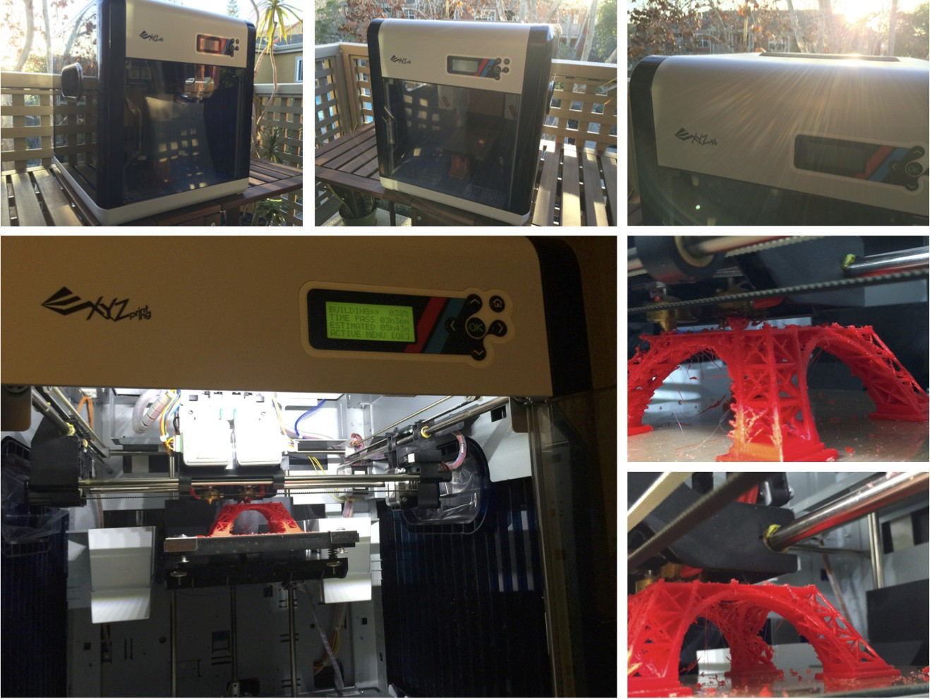 Comparison of top three <$1000 FDM personal 3D printers: 3D Systems