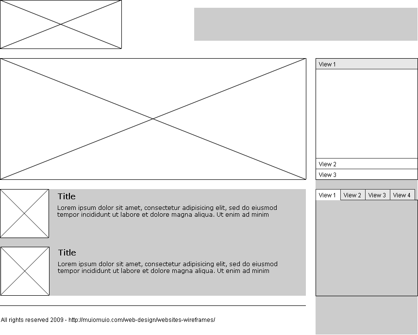 Website Wireframes for beginners - User Experience - Medium