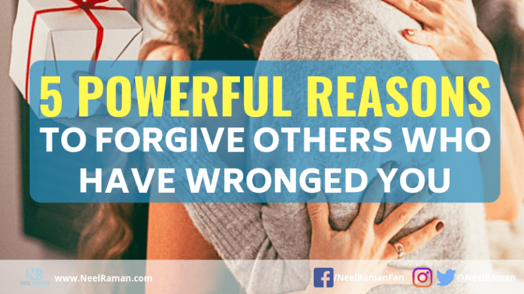 reasons to forgive others