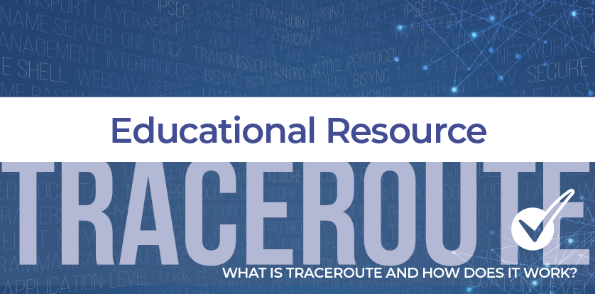 Free DNS traceroute lookup tool—what is a traceroute?