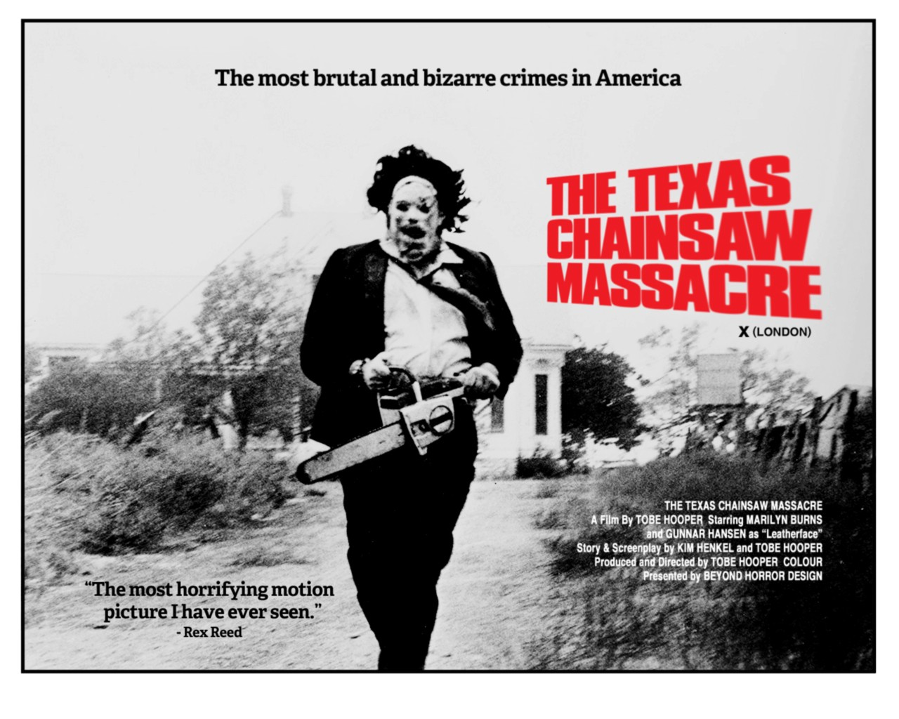 The Texas Chainsaw Massacre 1974 movie review