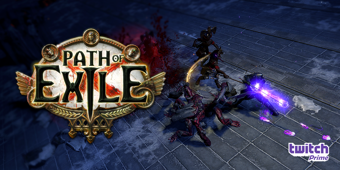 Twitch Prime members, draw your sword in Path of Exile!