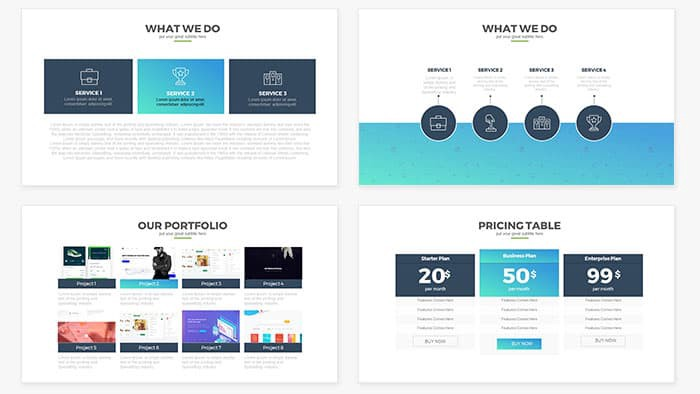Free And Premium Powerpoint Templates By 56 Pixels Medium,Factorial Experimental Design