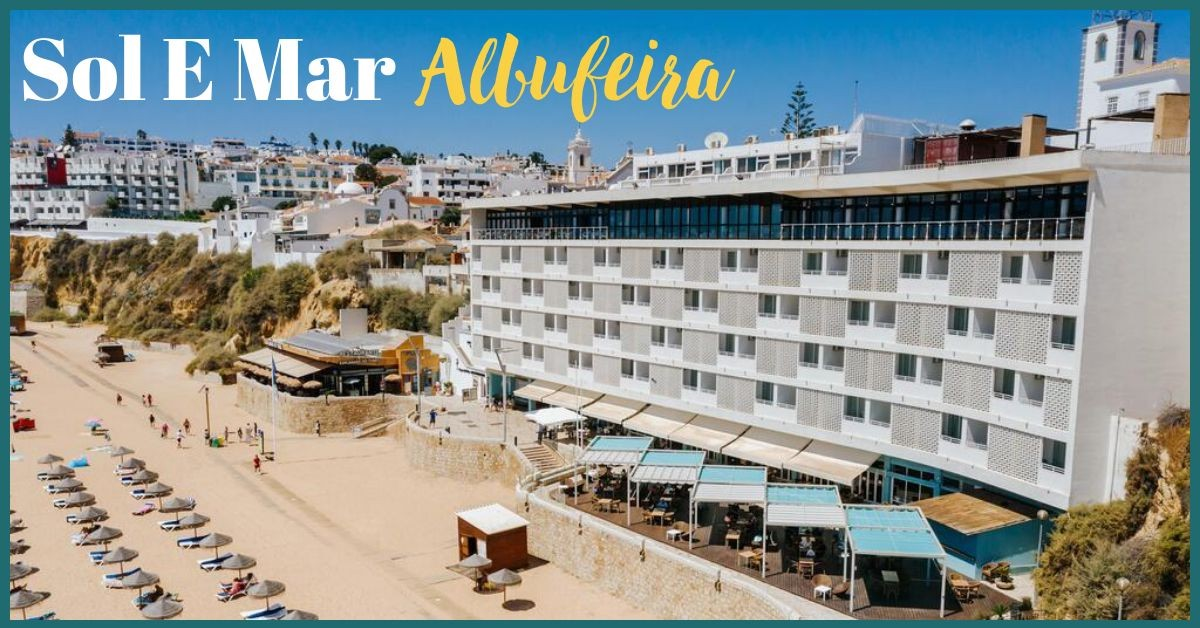 Hotel Sol E Mar Albufeira - Lovely Location on Beach With Nice Facilities
