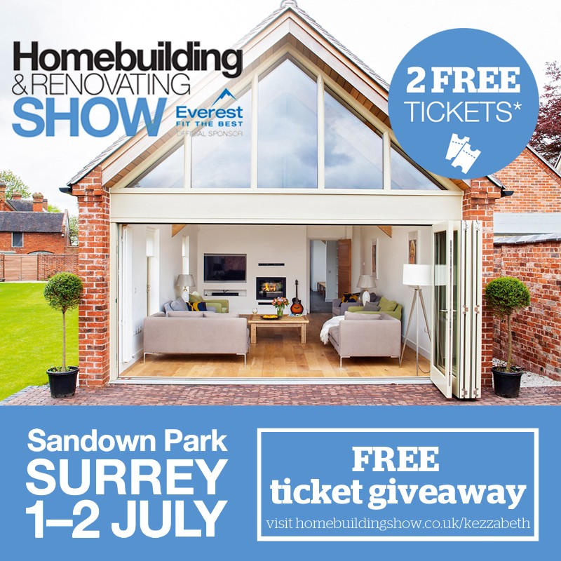free tickets to homebuilding & renovating show