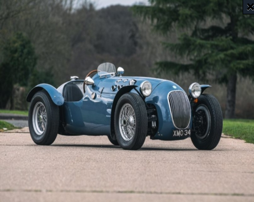 An important part of, not only motorsport history, but British post-war social history confirmed for the Race Retro Live Online Auction