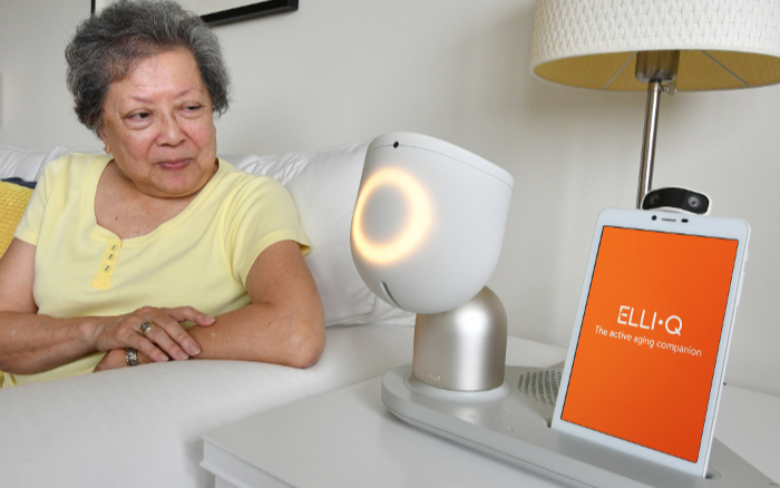 Combating senior loneliness: ElliQ aims to help