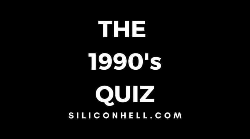 The 1990s Quiz – Trivia Questions on the Best of the 90s