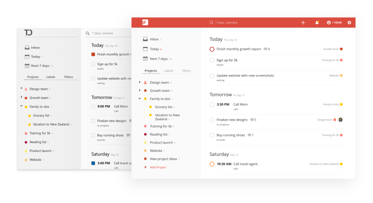 Todoist — Keeping all my balls in the air - Corporate Nomad