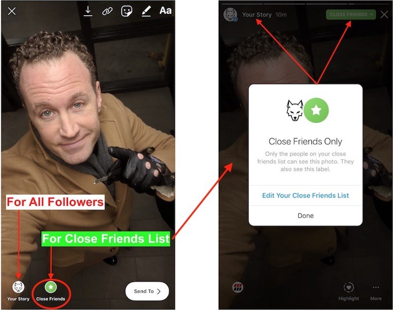 """How To Use Instagram """"Close Friends List"""" To Make Money with ANY IG"""
