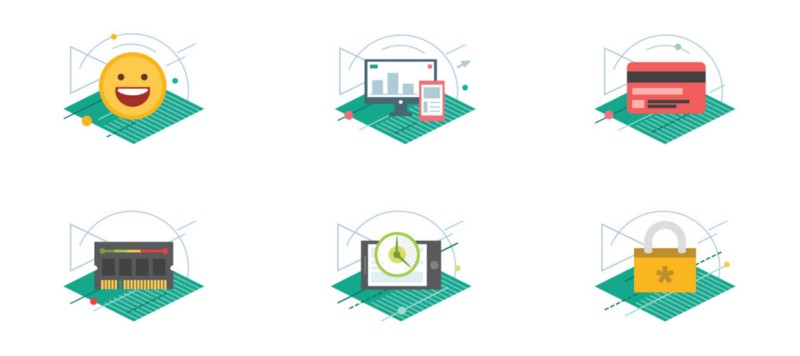 Developing the corporate illustration style for Kaspersky Lab