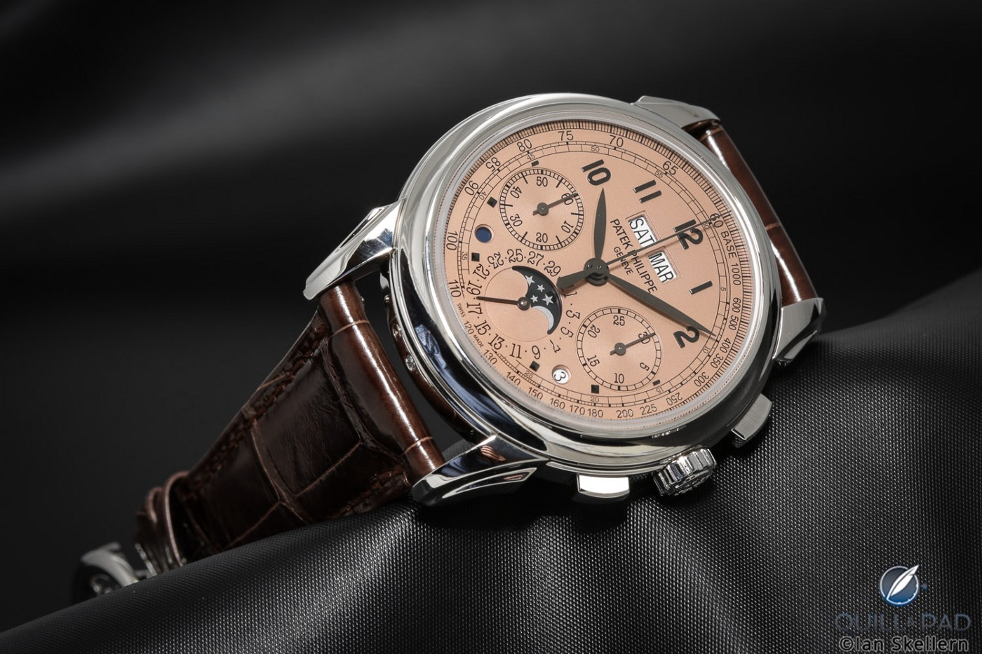 Patek Philippe Ref 5270P Perpetual Chronograph with salmon dial