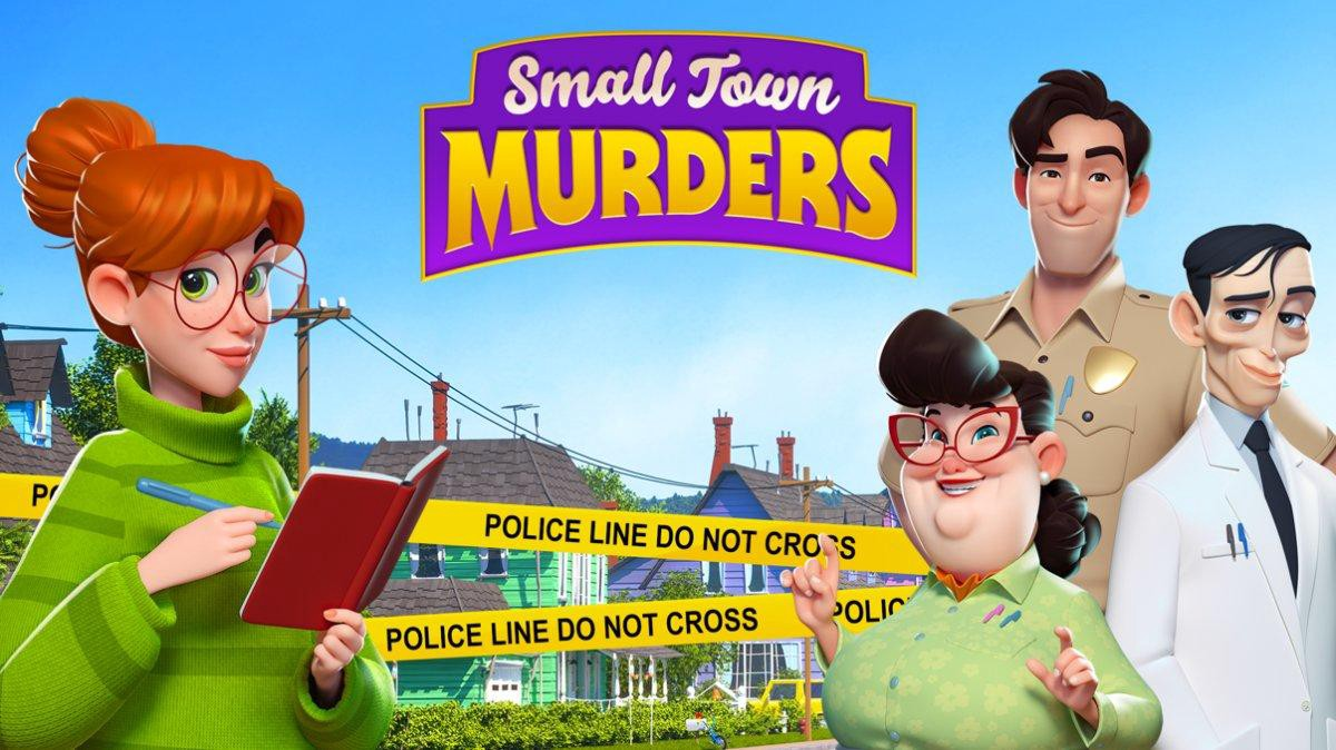Picture from the game Small town murders by Rovio entertainment.