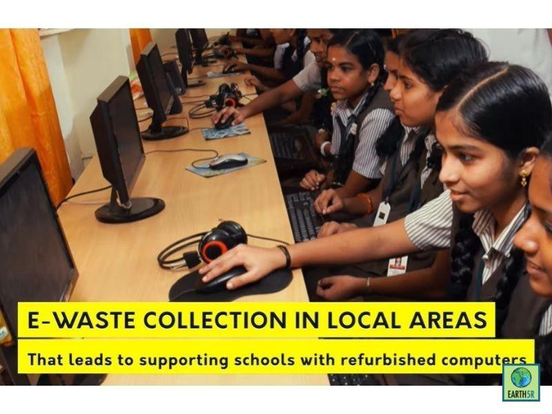 Earth5R's Sustainable Schools Project in Partnership with SWISS Air Staff Foundation For Children in Need