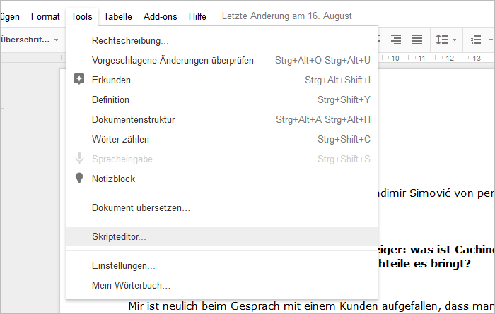 Convert HTML and documents from Google Docs to Markdown