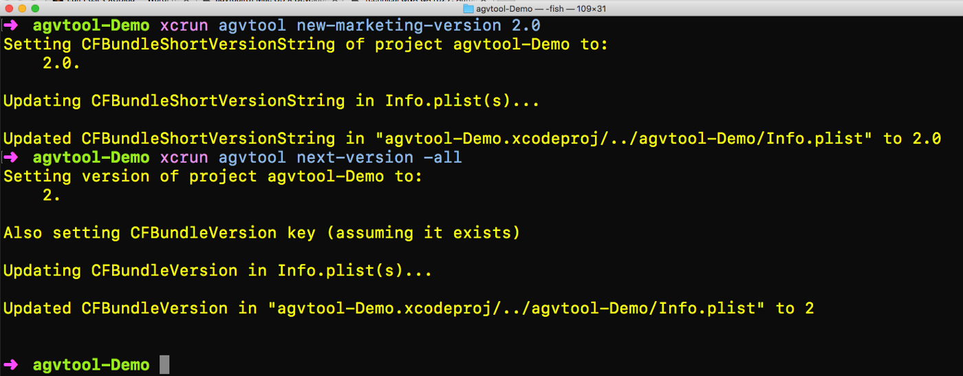 agvtool: Automating iOS Build and Version Numbers - XCBlog - Medium