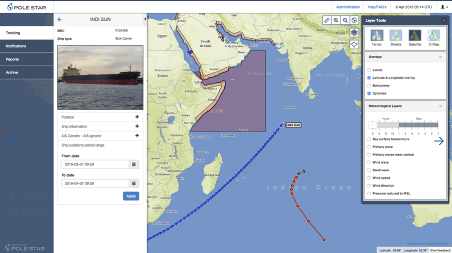 Better tracking for marine vessels - Points of interest