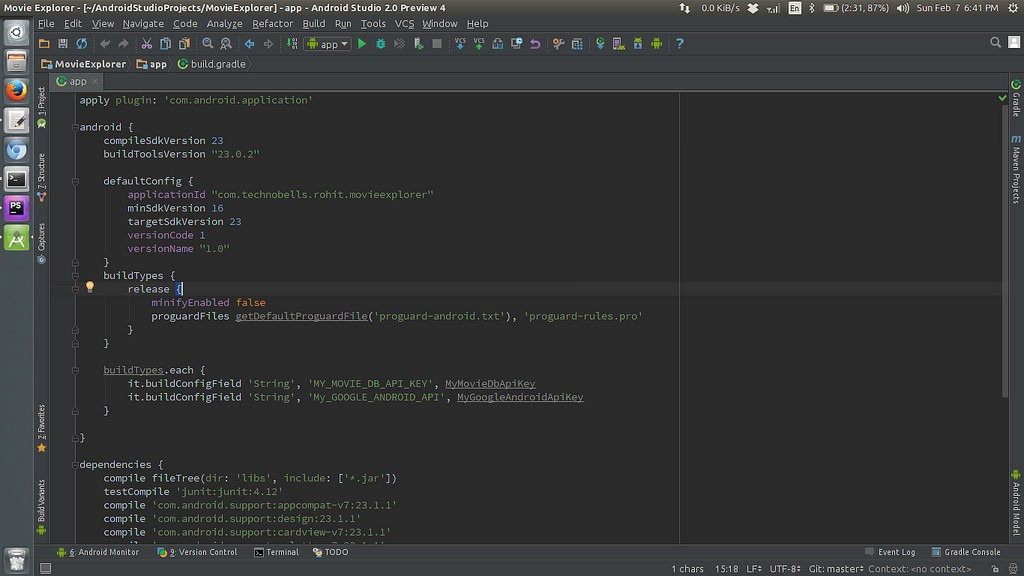 Best Way to Store your Api Keys for your Android Studio Project