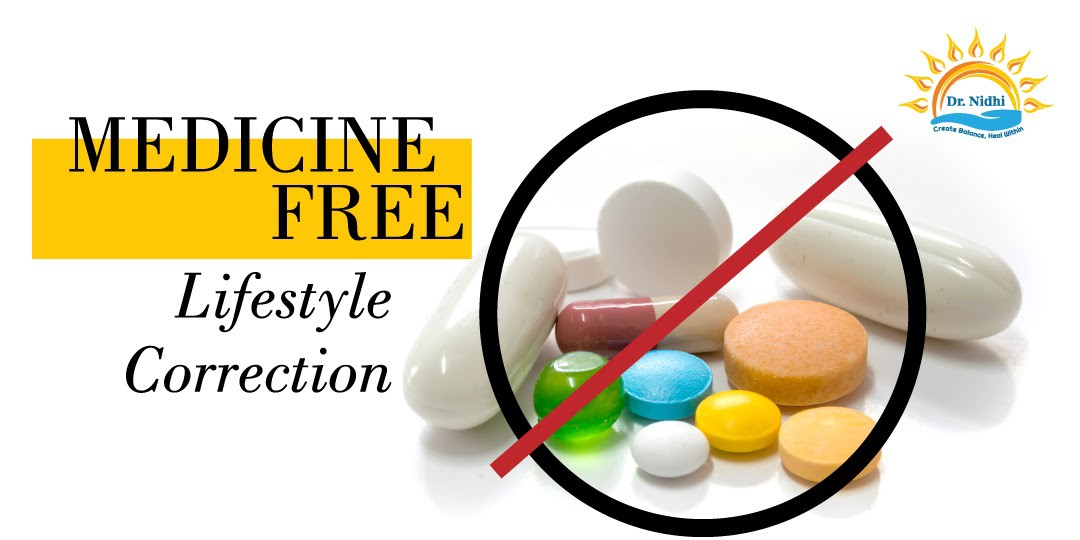 Medicine free — Lifestyle Correction | PHCC | Dr. Nidhi | Holistic Healing | Homeopathy | Natural Remedies | Live Medicine free |