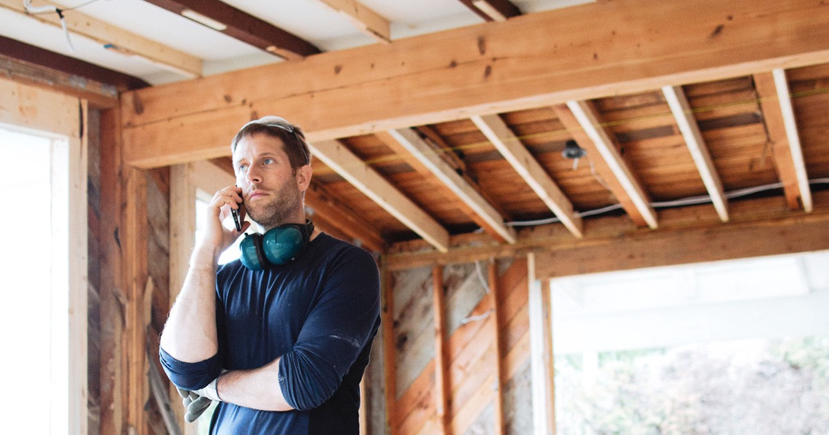 Person on Home Buying a New Construction Home